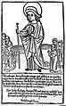 Prayer to St. Minus against Pox mala frantzoza (syphilis). Wellcome L0011147.jpg