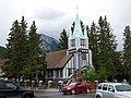 Presbyterian Church on Banff Avenue in Banff, Alberta.jpg