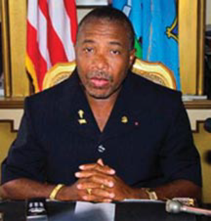 Charles Taylor (Liberian politician) - Image: President Charles Taylor
