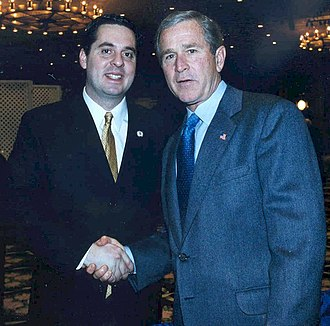 Devin Nunes - Nunes with President George W. Bush in 2003
