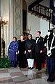 President Ronald Reagan, Nancy Reagan, Mohammad Zia Ul Haq, and Shafiq Zia.jpg