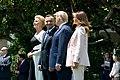 President Trump, First Lady Melania Trump, President Duda, and Mrs. Duda Watch an F-35 Flyover (48055682286).jpg