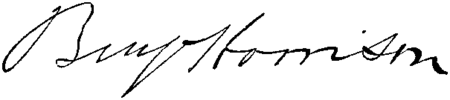 Presidents Benjamin Harrison signature.png