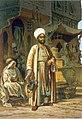 Preziosi - The Barber from Souvenir of Cairo c1862.jpg