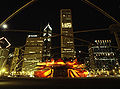 Pritzker pavilion looking north night logan reed.jpg