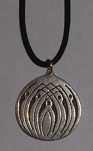 Secular coming-of-age ceremony - The Prometheus- medallion