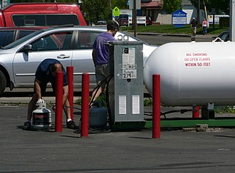 Propane - Retail sale of propane in the United States