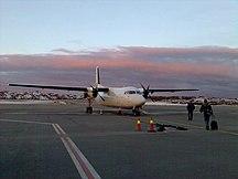 Haugesunds flygplats, Karmøy