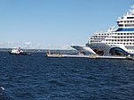 Protector towing Viking Star Port of Tallinn 6 August 2018.jpg