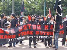 Protest march in Jakarta, Indonesia - 20070501.jpg
