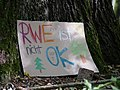 Protest sign in the Hambach forest 02.jpg