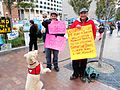 Protesters and dog at Occupy Boston.jpeg