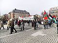 Protesters in Trondheim who sympathize with Palestine and wants to boycot Israel in 2013 (01).JPG