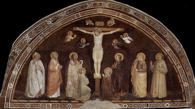 Puccio Capana, Ukrzyżowanie Jezusa, ok 1330