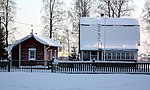 The Villa Pukseri in Hietasaari island in Oulu. The villa was built in 1921 and it is used by the Oulu Pensioners Association.