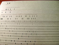 Punch card with Fortran - 20091211.jpg