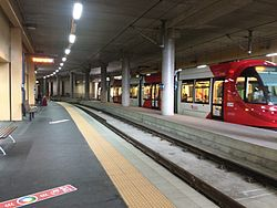 Pyrmont Bay light rail station.JPG