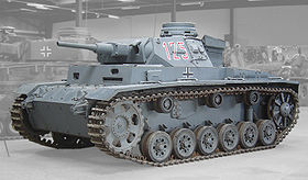 Panzer III Ausf. H (auf Ausf. H Fahrgestell). Musée des blindés de Saumur, France (2006)