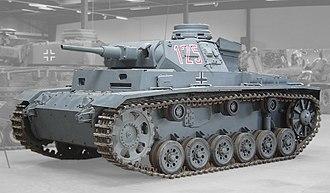 M3 Stuart - Panzer III.