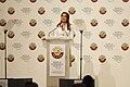Queen Rania at World Economic Forum Global Redesign Summit 2010.jpg
