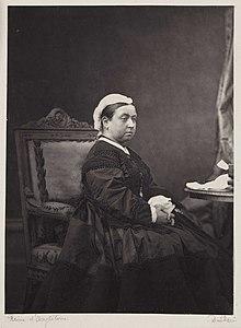 Victoria um 1870 (Quelle: Wikimedia)
