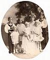 Queen Victoria Eugenie of Spain with her children.jpg