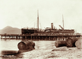 Queensland State Archives 2214 SS Aramac at the wharf Cairns 1897.png