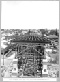 Queensland State Archives 3742 South approach three 102ft steel truss spans completely erected Brisbane 29 January 1937.png