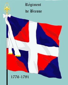 Image illustrative de l'article Régiment de Bresse (1775)