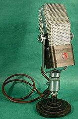 RCA 44-BX Bi-Directional Velocity Microphone