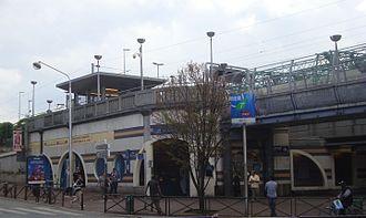 Gare de La Courneuve – Aubervilliers - Railway station of La Courneuve - Aubervilliers.