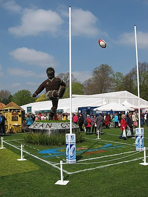 Bute Park - The annual RHS Show Cardiff has been held in Bute Park since 2005.