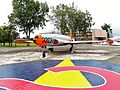 ROCAF T-33 in Hsinchu AFB Front View 20120602.jpg