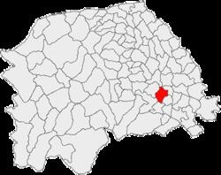 Vị trí của Radaseni