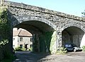 Railway Viaduct at Pitcombe - geograph.org.uk - 567464.jpg
