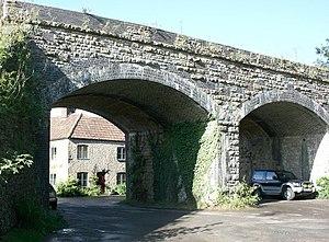 Pitcombe - Image: Railway Viaduct at Pitcombe geograph.org.uk 567464