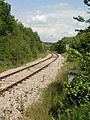 Railway to the north of Cefn Cribwr - geograph.org.uk - 844555.jpg