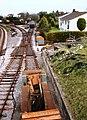Railway wagon, below bridge, Churston Station - geograph.org.uk - 369891.jpg