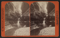 Rainbow falls, from below. Watkins Glen, N.Y, by Bierstadt, Charles, 1819-1903.png