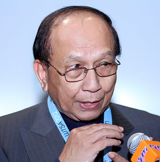 Minister in the Prime Minister's Department - Image: Rais Yatim cropped