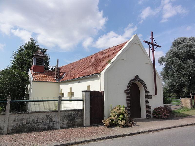 Ramicourt (Aisne) église Sainte-Bernadette