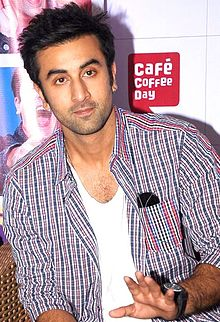 An upper body shot of Ranbir Kapoor