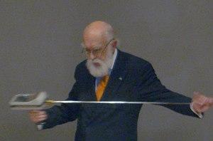 Skepticism educator James Randi at a ...