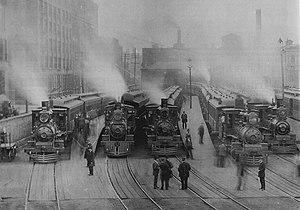 Millennium Station - Randolph Street station, 1895