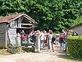 Randonnée ESD 2009 - Relais de la maison forestière.JPG