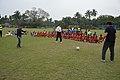 Ranjan Chowdhury - Syed Nayeemuddin - Jamshid Nassiri - Showing Skills - Football Workshop - Sagar Sangha Stadium - Baruipur - South 24 Parganas 2016-02-14 1175.JPG