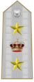 Rank insignia of generale di corpo d'armata of the Italian Army (1945-1947).png