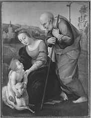 Die Heilige Familie mit dem Lamm (Kopie nach)