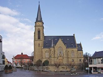 Bad Rappenau - Protestant church