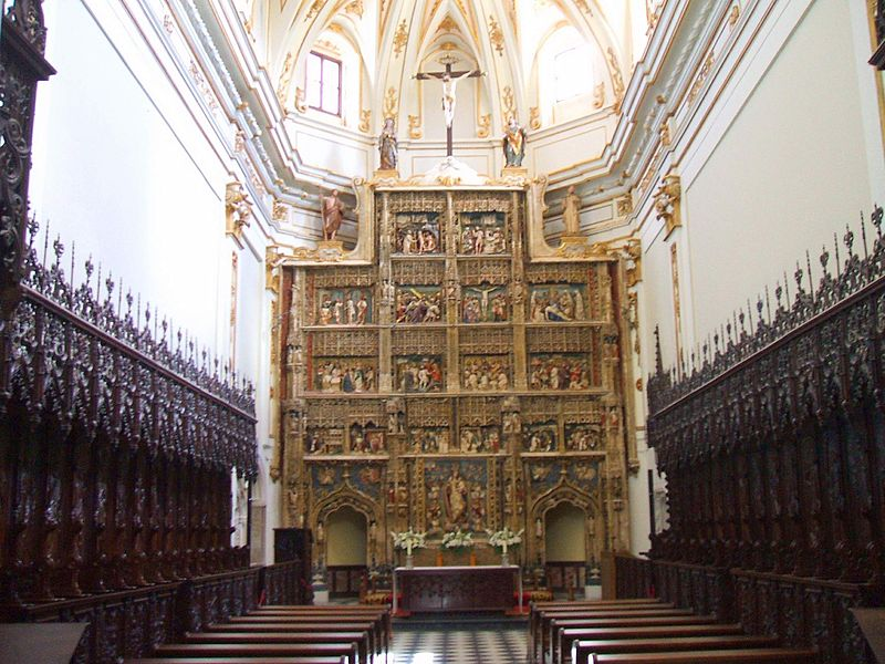Rascafria - Monasterio de Santa Maria del Paular 17.JPG